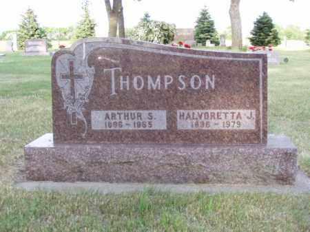 THOMPSON, ARTHUR SYLVESTER - Minnehaha County, South Dakota | ARTHUR SYLVESTER THOMPSON - South Dakota Gravestone Photos