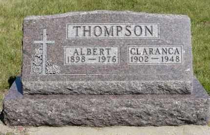 THOMPSON, CLARANCA EVELYN - Minnehaha County, South Dakota   CLARANCA EVELYN THOMPSON - South Dakota Gravestone Photos