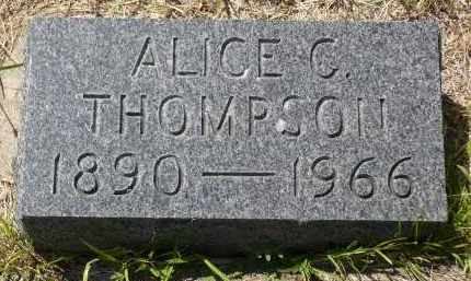 THOMPSON, ALICE C. - Minnehaha County, South Dakota | ALICE C. THOMPSON - South Dakota Gravestone Photos