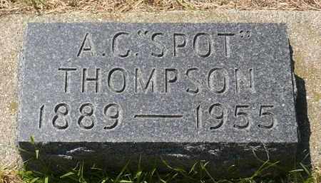 THOMPSON, ALFRED CORNELIUS - Minnehaha County, South Dakota   ALFRED CORNELIUS THOMPSON - South Dakota Gravestone Photos