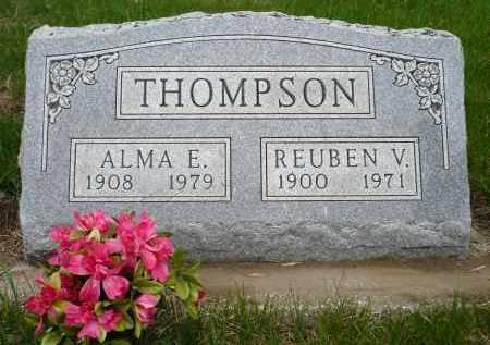 THOMPSON, REUBEN V. - Minnehaha County, South Dakota | REUBEN V. THOMPSON - South Dakota Gravestone Photos