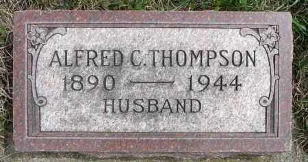THOMPSON, ALFRED C. - Minnehaha County, South Dakota | ALFRED C. THOMPSON - South Dakota Gravestone Photos