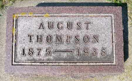THOMPSON, AUGUST - Minnehaha County, South Dakota | AUGUST THOMPSON - South Dakota Gravestone Photos