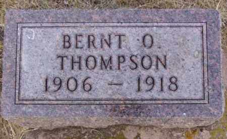 THOMPSON, BERNT O. - Minnehaha County, South Dakota | BERNT O. THOMPSON - South Dakota Gravestone Photos