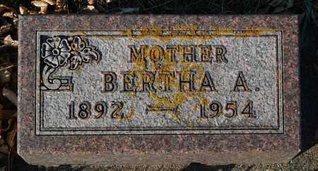 THOMPSON, BERTHA A. - Minnehaha County, South Dakota | BERTHA A. THOMPSON - South Dakota Gravestone Photos