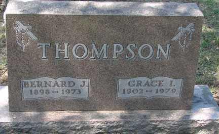 THOMPSON, GRACE I. - Minnehaha County, South Dakota | GRACE I. THOMPSON - South Dakota Gravestone Photos