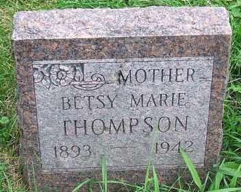 THOMPSON, BETSY MARIE - Minnehaha County, South Dakota | BETSY MARIE THOMPSON - South Dakota Gravestone Photos