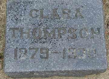THOMPSON, CLARA - Minnehaha County, South Dakota | CLARA THOMPSON - South Dakota Gravestone Photos