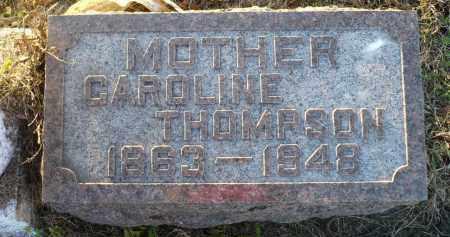 THOMPSON, CAROLINE - Minnehaha County, South Dakota | CAROLINE THOMPSON - South Dakota Gravestone Photos