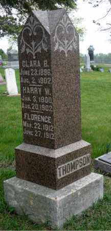 THOMPSON, CLARA B. - Minnehaha County, South Dakota | CLARA B. THOMPSON - South Dakota Gravestone Photos