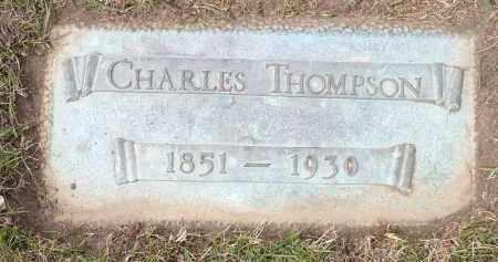 THOMPSON, CHARLES - Minnehaha County, South Dakota   CHARLES THOMPSON - South Dakota Gravestone Photos
