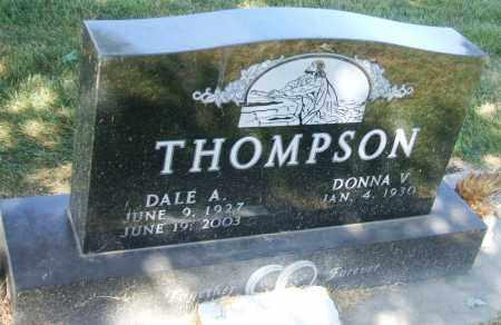 THOMPSON, DALE A. - Minnehaha County, South Dakota | DALE A. THOMPSON - South Dakota Gravestone Photos