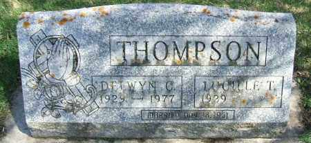 THOMPSON, LUCILLE T. - Minnehaha County, South Dakota | LUCILLE T. THOMPSON - South Dakota Gravestone Photos