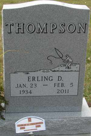THOMPSON, ERLING D. - Minnehaha County, South Dakota | ERLING D. THOMPSON - South Dakota Gravestone Photos