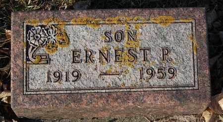 THOMPSON, ERNEST P. - Minnehaha County, South Dakota | ERNEST P. THOMPSON - South Dakota Gravestone Photos