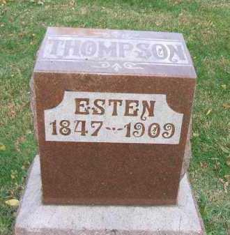 THOMPSON, ESTEN - Minnehaha County, South Dakota | ESTEN THOMPSON - South Dakota Gravestone Photos