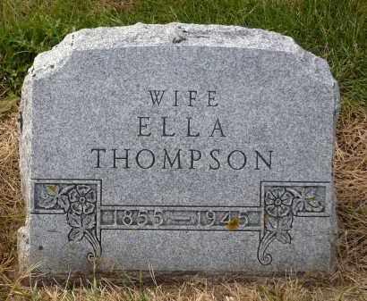 THOMPSON, ELLA - Minnehaha County, South Dakota   ELLA THOMPSON - South Dakota Gravestone Photos