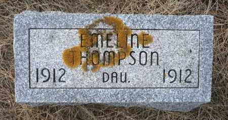 THOMPSON, EMELINE - Minnehaha County, South Dakota | EMELINE THOMPSON - South Dakota Gravestone Photos