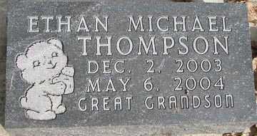 THOMPSON, ETHAN MICHAEL - Minnehaha County, South Dakota   ETHAN MICHAEL THOMPSON - South Dakota Gravestone Photos