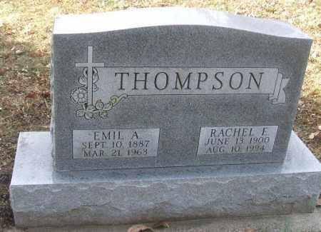 THOMPSON, RACHEL E. - Minnehaha County, South Dakota | RACHEL E. THOMPSON - South Dakota Gravestone Photos