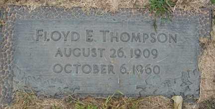THOMPSON, FLOYD E. - Minnehaha County, South Dakota | FLOYD E. THOMPSON - South Dakota Gravestone Photos