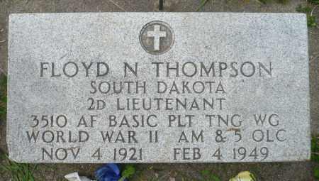 THOMPSON, FLOYD N. (WWII) - Minnehaha County, South Dakota   FLOYD N. (WWII) THOMPSON - South Dakota Gravestone Photos