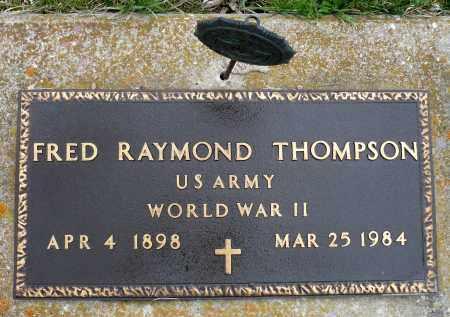 THOMPSON, FRED RAYMOND - Minnehaha County, South Dakota | FRED RAYMOND THOMPSON - South Dakota Gravestone Photos