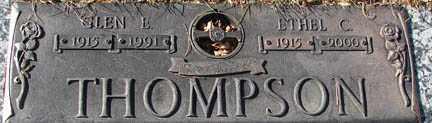 THOMPSON, ETHEL C. - Minnehaha County, South Dakota | ETHEL C. THOMPSON - South Dakota Gravestone Photos