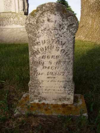 THOMPSON, GUSTAV - Minnehaha County, South Dakota   GUSTAV THOMPSON - South Dakota Gravestone Photos