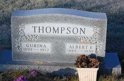 THOMPSON, GURINA - Minnehaha County, South Dakota | GURINA THOMPSON - South Dakota Gravestone Photos