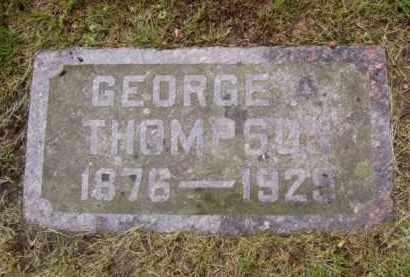 THOMPSON, GEORGE A. - Minnehaha County, South Dakota | GEORGE A. THOMPSON - South Dakota Gravestone Photos