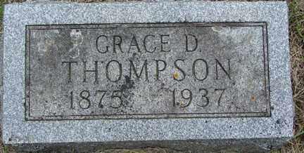 THOMPSON, GRACE D. - Minnehaha County, South Dakota | GRACE D. THOMPSON - South Dakota Gravestone Photos