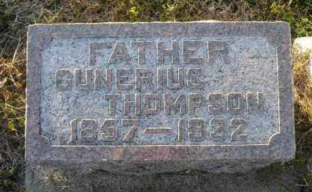 THOMPSON, GUNERIUS - Minnehaha County, South Dakota | GUNERIUS THOMPSON - South Dakota Gravestone Photos