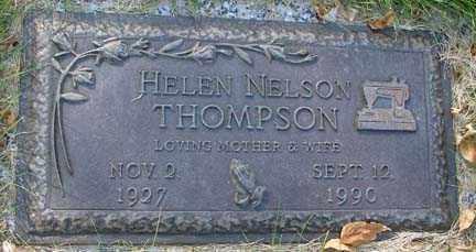 THOMPSON, HELEN - Minnehaha County, South Dakota | HELEN THOMPSON - South Dakota Gravestone Photos