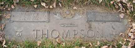 THOMPSON, HARRY P. - Minnehaha County, South Dakota   HARRY P. THOMPSON - South Dakota Gravestone Photos