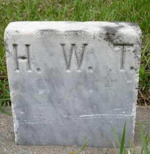 THOMPSON, HARRY W. - Minnehaha County, South Dakota | HARRY W. THOMPSON - South Dakota Gravestone Photos