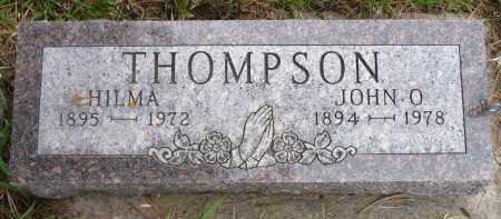 THOMPSON, HILMA - Minnehaha County, South Dakota | HILMA THOMPSON - South Dakota Gravestone Photos