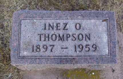 THOMPSON, INEZ O. - Minnehaha County, South Dakota | INEZ O. THOMPSON - South Dakota Gravestone Photos