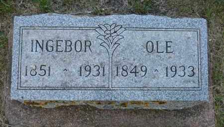 THOMPSON, INGEBORG OLSON - Minnehaha County, South Dakota | INGEBORG OLSON THOMPSON - South Dakota Gravestone Photos