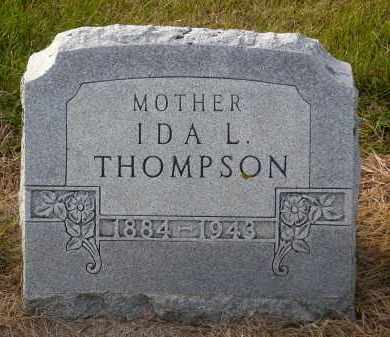 THOMPSON, IDA L. - Minnehaha County, South Dakota | IDA L. THOMPSON - South Dakota Gravestone Photos