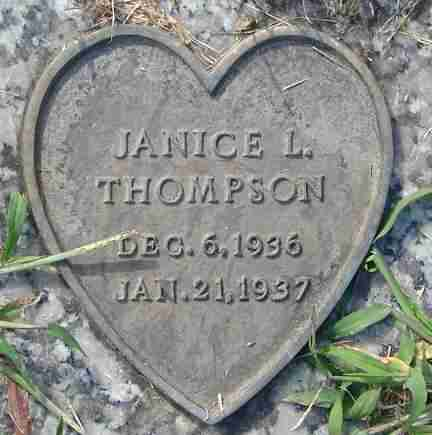 THOMPSON, JANICE L. - Minnehaha County, South Dakota | JANICE L. THOMPSON - South Dakota Gravestone Photos