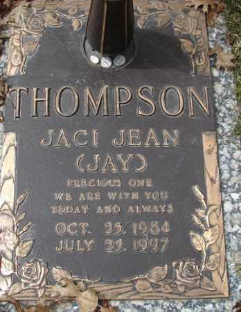 THOMPSON, JACI JEAN - Minnehaha County, South Dakota | JACI JEAN THOMPSON - South Dakota Gravestone Photos