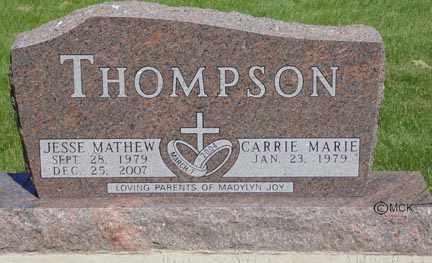 THOMPSON, CARRIE MARIE - Minnehaha County, South Dakota | CARRIE MARIE THOMPSON - South Dakota Gravestone Photos
