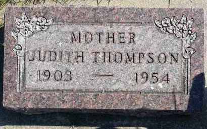 THOMPSON, JUDITH - Minnehaha County, South Dakota | JUDITH THOMPSON - South Dakota Gravestone Photos