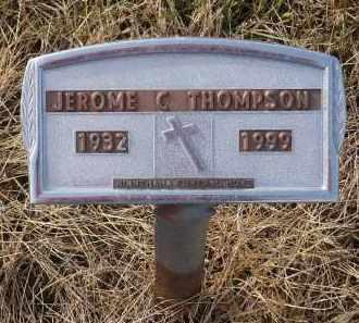 THOMPSON, JEROME C. - Minnehaha County, South Dakota   JEROME C. THOMPSON - South Dakota Gravestone Photos