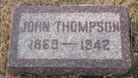 THOMPSON, JOHN - Minnehaha County, South Dakota | JOHN THOMPSON - South Dakota Gravestone Photos