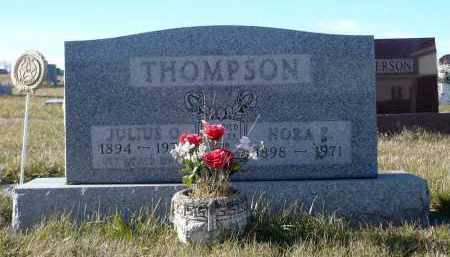 THOMPSON, JULIUS OLIVER - Minnehaha County, South Dakota   JULIUS OLIVER THOMPSON - South Dakota Gravestone Photos