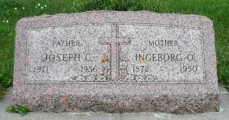 TøMMERåSMO (MOAN) THOMPSON, INGEBORGE OLSDATTER - Minnehaha County, South Dakota | INGEBORGE OLSDATTER TøMMERåSMO (MOAN) THOMPSON - South Dakota Gravestone Photos