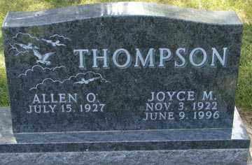 THOMPSON, ALLEN O. - Minnehaha County, South Dakota | ALLEN O. THOMPSON - South Dakota Gravestone Photos