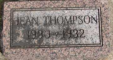 THOMPSON, JEAN - Minnehaha County, South Dakota | JEAN THOMPSON - South Dakota Gravestone Photos